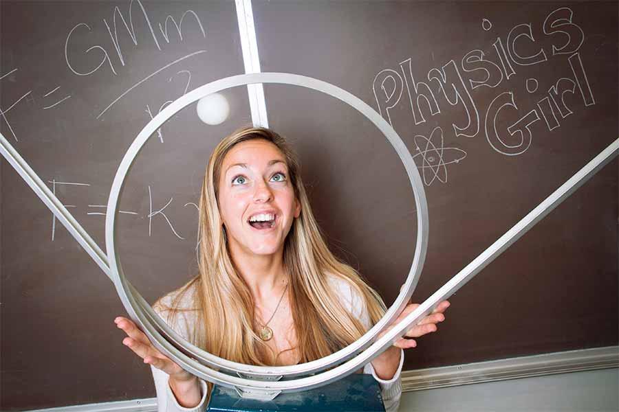 Physics Girl Dianna Cowern