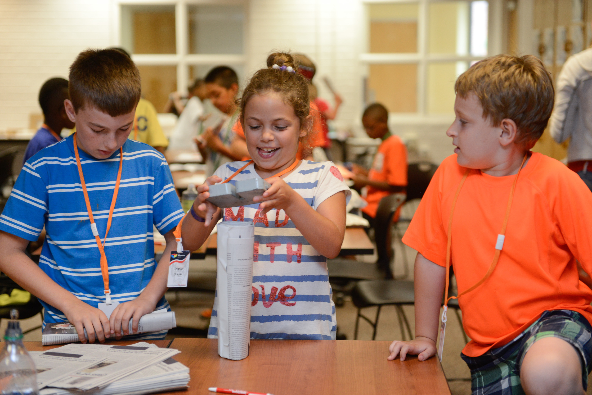 Many K-12 engineering programs deliver hands-on, collaborative learning experiences.
