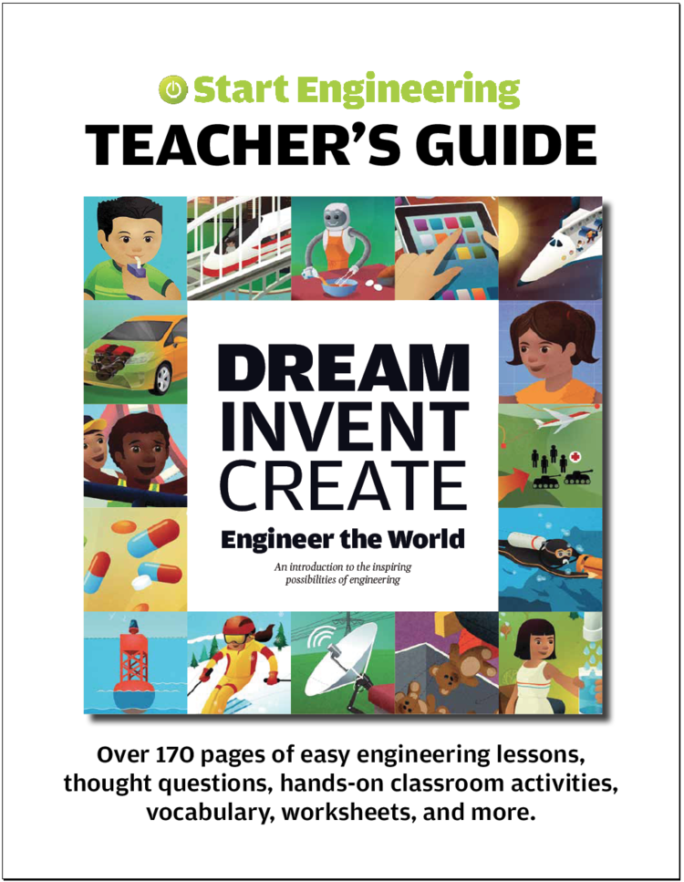 Educators in class or after school will find dozens of ready-to-use lessons to make engineering fun and accessible for students.