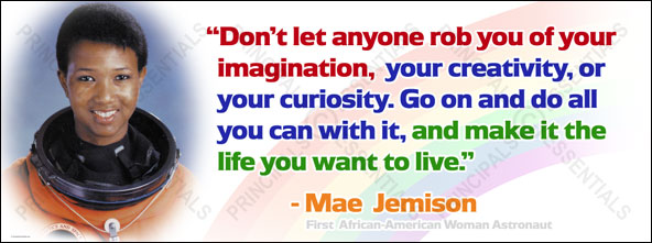 Mae Jemison went into orbit on the Space Shuttle Endeavor in 1992.