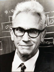Joseph Weber, a member of the Innovation Hall of Fame at the University of Maryland.
