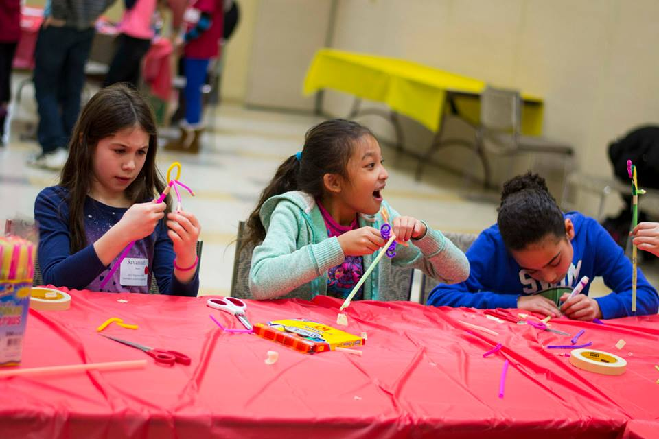 Engineers Week activity at WPI makes for an exciting day.