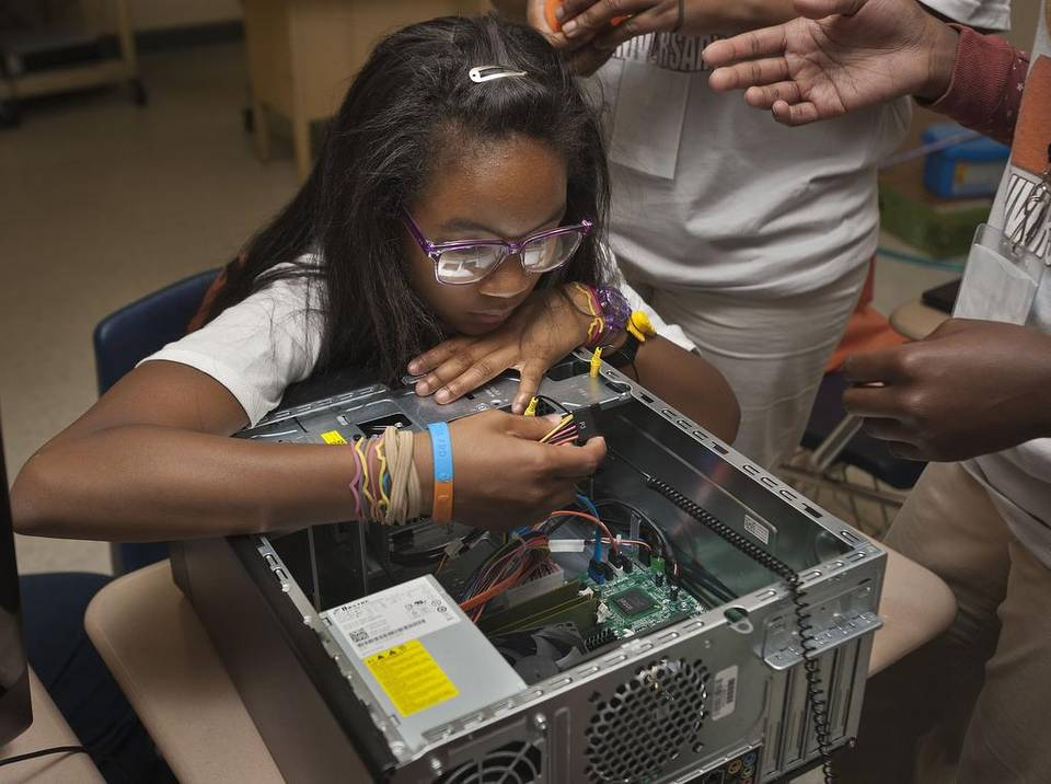 Girls scored higher than boys in engineering and technology proficiency on the 2014 NAEP Technology and Engineering Literacy test, with particular differences registered by both white and African-American girls.