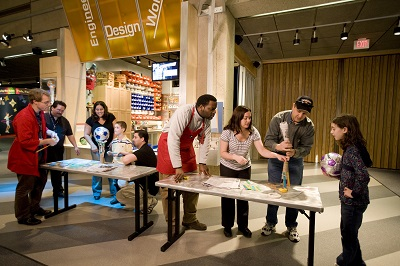 Hands-on learning at the Museum of Science in Boston helps teach kids what engineering is all about.