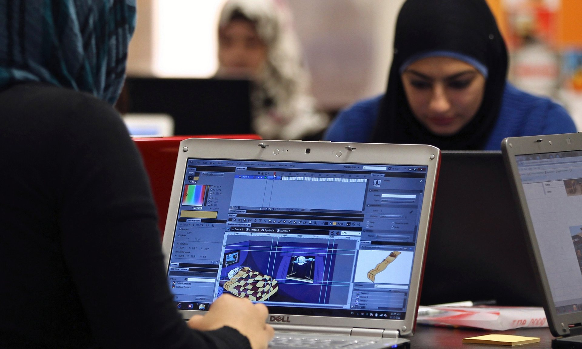 Internet work done at home or in single-sex environments can provide Arab women in technology with opportunities they would not otherwise have in public, male-dominated workplaces.