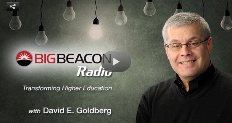 Dave Goldberg has been leading a movement to bring emotion and passion to engineering education since his days at the University of Illinois and Olin College of Engineering.
