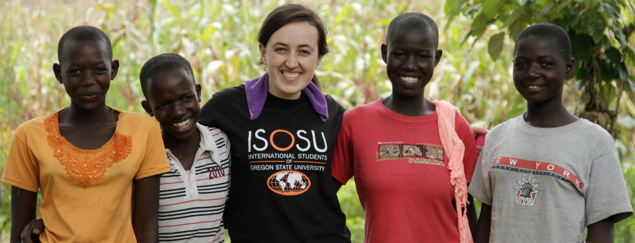 At Oregon State University, students can study humanitarian engineering from many academic angles as well as participate in projects in the field.