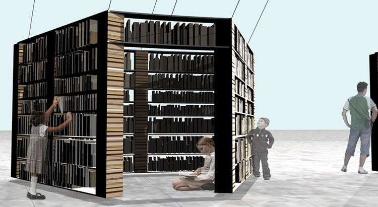 P63 - library made of books.jpeg