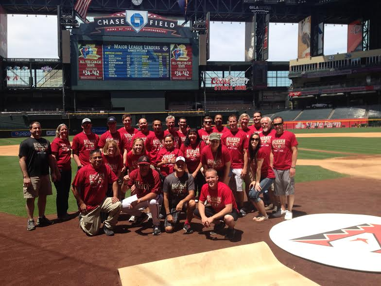 The Arizona Diamondbacks have long worked to showcase connections to STEM learning in the game of baseball with events at the park involving local teachers, students, and parents.