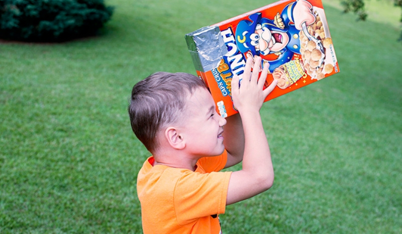 Households across the country put their engineering skills to use making cereal box viewers to safely watch the solar eclipse.