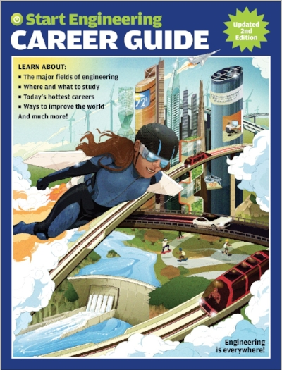 Our career guide shows the range and relevance of contributions engineers make to our lives, using the design-based thinking and technical knowledge they gain from engineering studies.