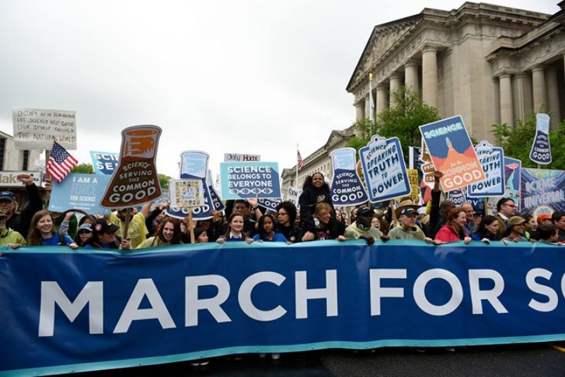 The April March for Science catalyzed awareness and activity among many who had previously stayed out of politics.
