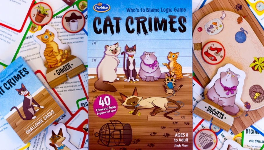 For anyone on Team Feline, Cat Crimes might be the purr-fect gift.