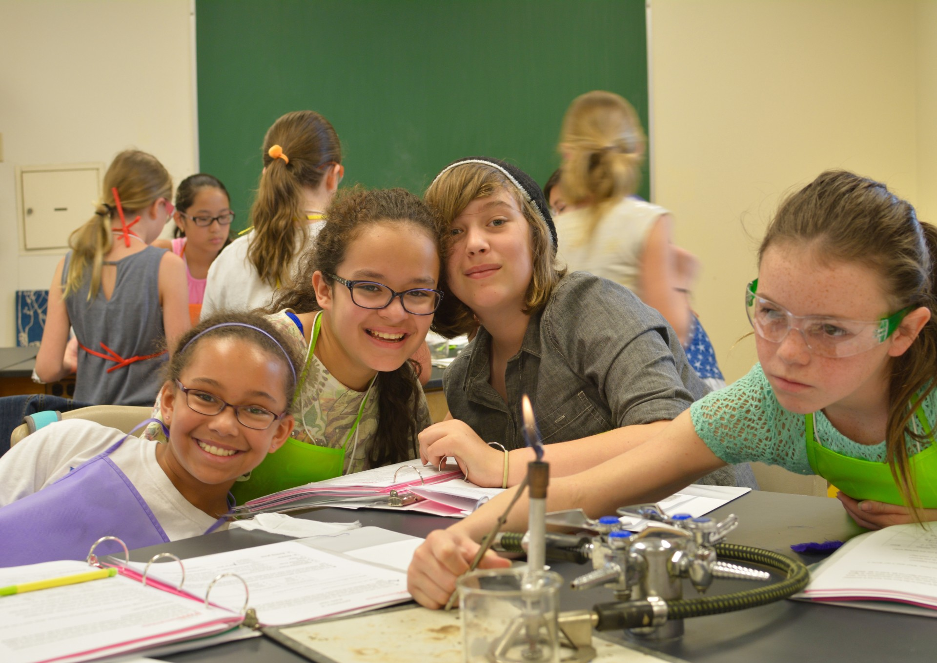Girls' performance on the second national test of technology and engineering literacy continued to shine.
