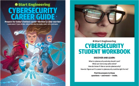 As a matched set, the Cybersecurity Career Guide and Student Workbook are appealing, accessible tools for educators to show students how opportunities in cybersecurity can work for them.