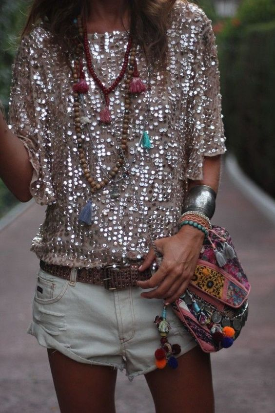 Carolina Gynning Sequin Top Pin Carrie Montgomery