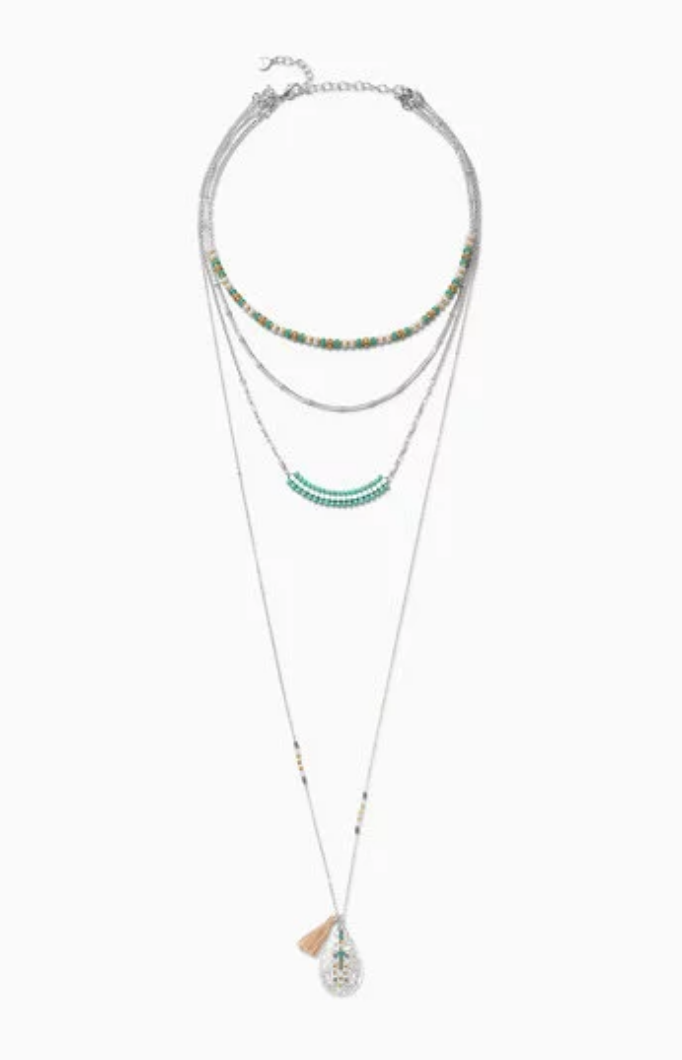 Frieze Layering Necklace Carrie Montgomery Blog
