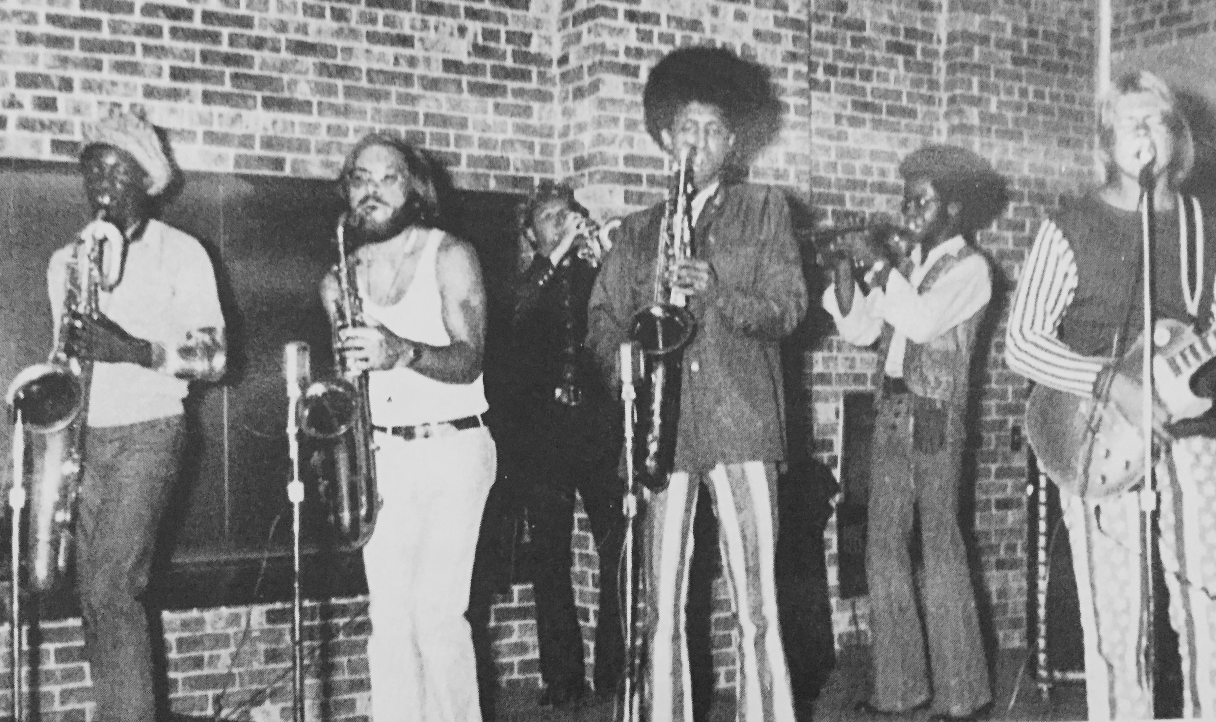 Kinda wishing I made a note of what the band was called or the name of the members or what year the photo was taken...