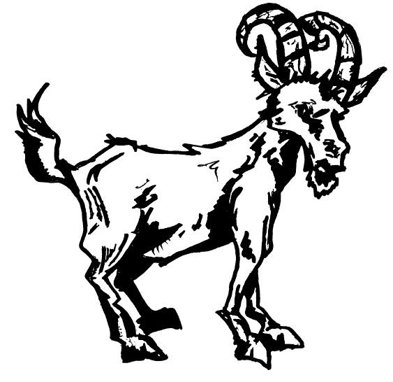 Satan goat.