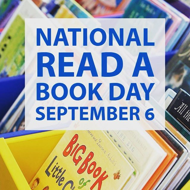 Celebrate #NationalReadABookDay with your child. What will you read today?