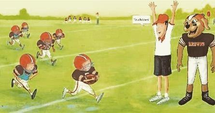 Touchdown! Cleveland Browns win 23-3! #clevelandbrowns #espnmnf #dawgpound #bakermayfield #odellbeckhamjr Book: A Little Browns Football Story by Richard Torrey