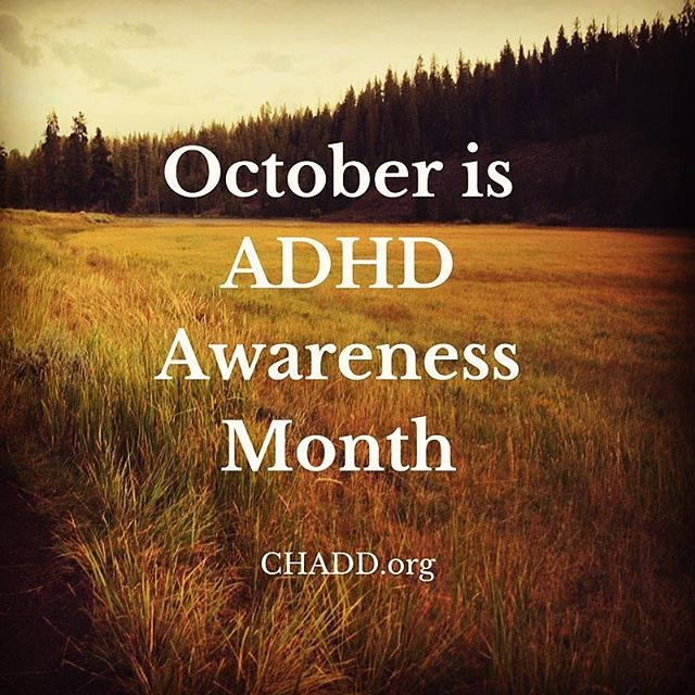 Oct. 1 kicks off ADHD Awareness month. Let's put an end to its stigma by calling it out. #EndADHDStigma #ADHD #ADHDAwarenessMonth