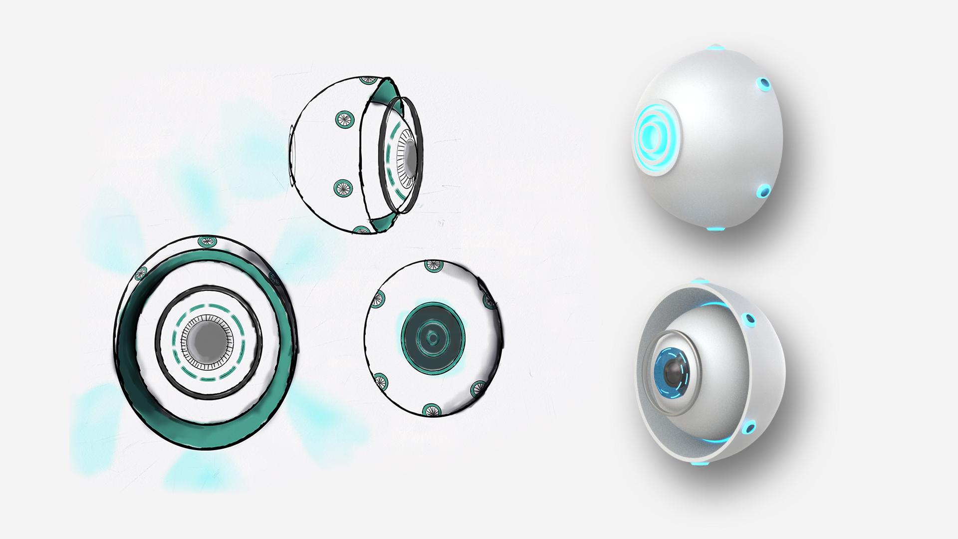 Ontwerp floating cams