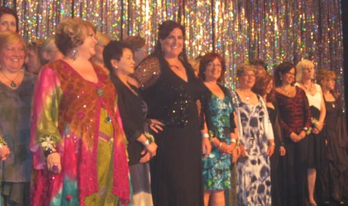 All of the YWCA nominees on stage