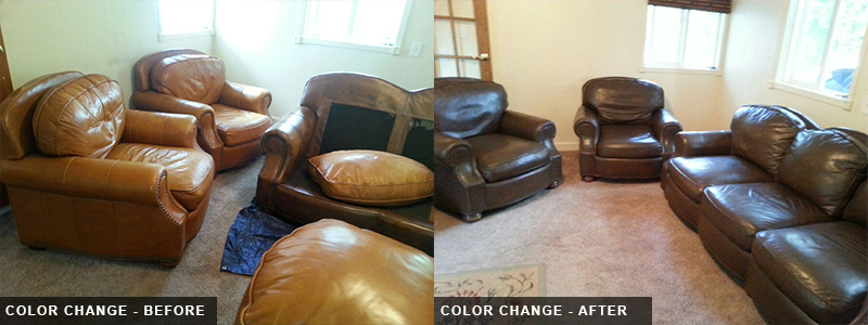 Leather Sofa Color Change Repair and Restoration Oakland County, MI - Leather Sofa Color Change Repair and Restoration Macomb County, MI - Leather Sofa Color Change Repair and Restoration Wayne County, MI
