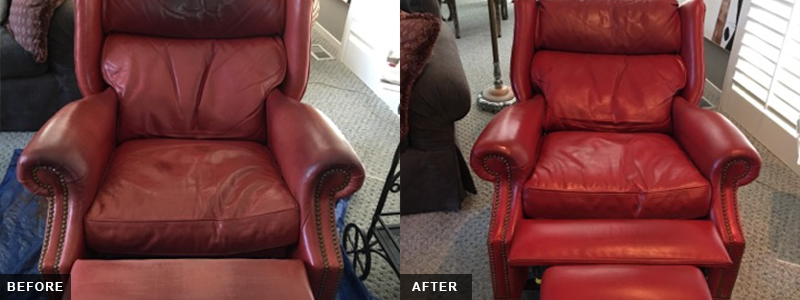 Leather Recliner seat Fatigue Repair and Restoration Oakland County, MI - Leather Recliner seat Fatigue Repair and Restoration Macomb County, MI - Leather Recliner seat Fatigue Repair and Restoration Wayne County, MI