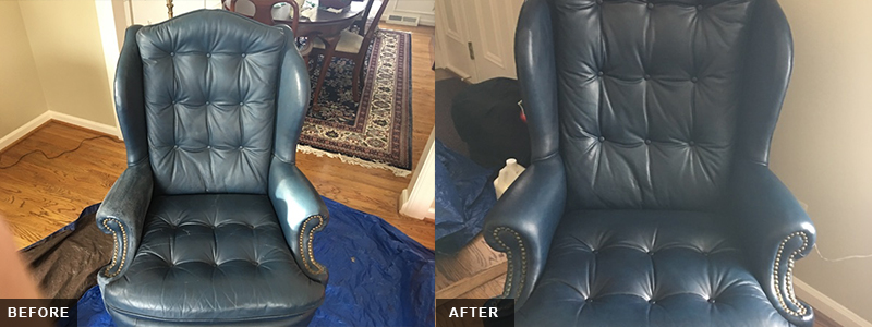 Leather Parlor Chair Fatigue Repair and Restoration Oakland County, MI - Leather Parlor Chair Fatigue Repair and Restoration Macomb County, MI - Leather Parlor Chair Fatigue Repair and Restoration Wayne County, MI