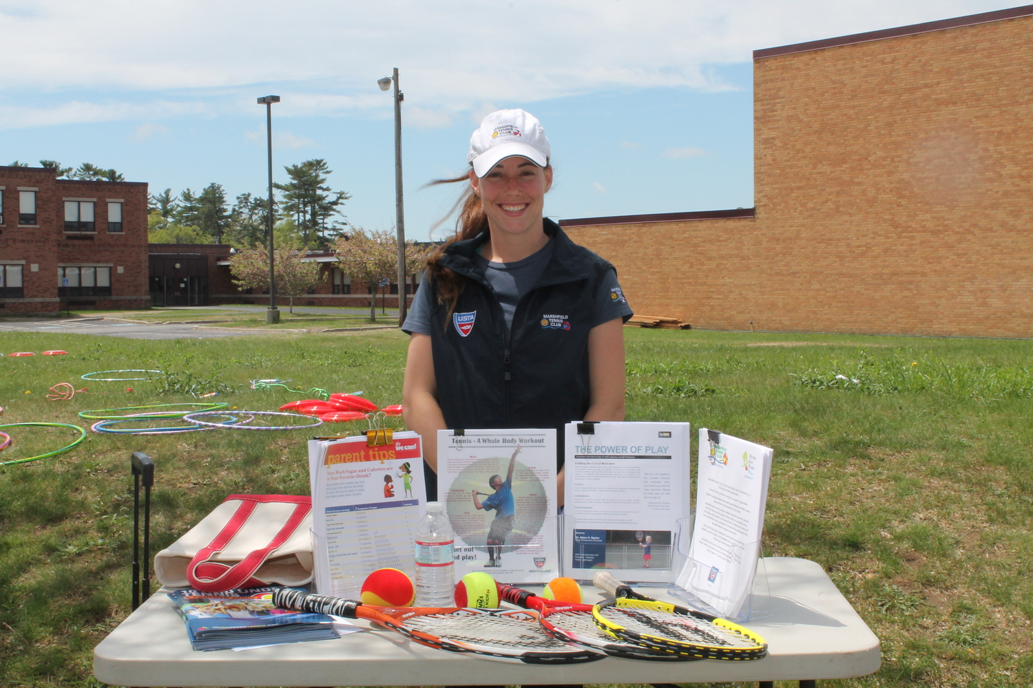 Fitness Fair at Furnace Brook Middle School