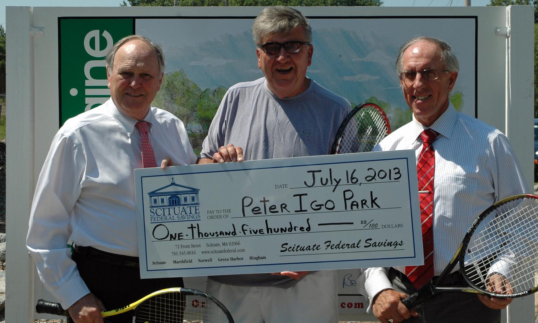Scituate Savings Donates to Peter Igo Park