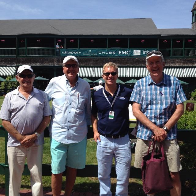 Don Knox, Bud Duksta, Matt Olson, and Russ Ellis