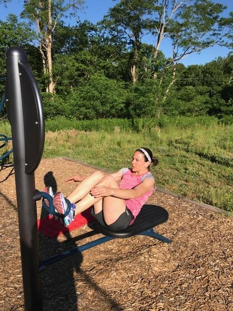 Morning Workout at Peter Igo Park