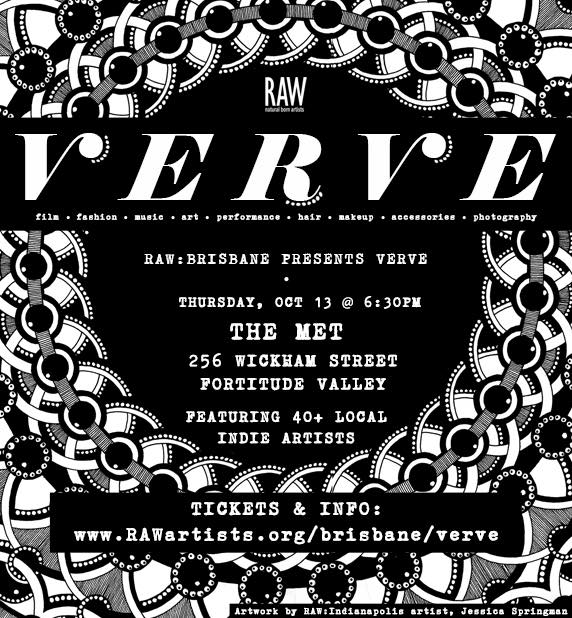 RAW Brisbane: VERVE, 2016 - We are not your average art show. We are loud, colorful, creative, and all about our independent artists. We are RAW.