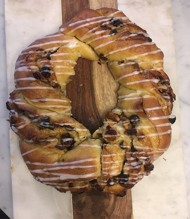 Sundays are dedicated to cooking and baking. Apricot couronne, as seen on great British baking show technical challenge.