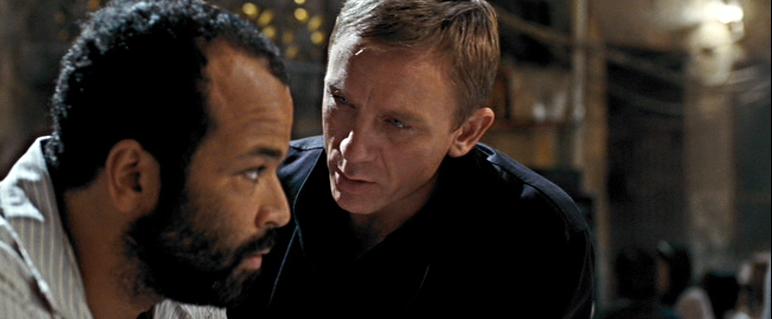 Felix Leiter and James Bond -Quantum of Solace