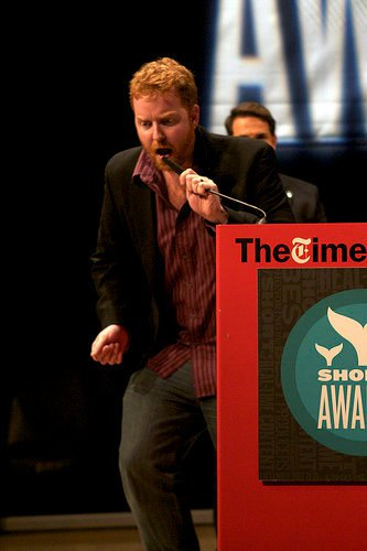 Dave at Shorty Awards 2