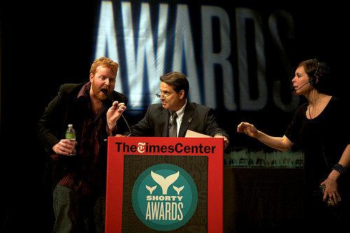 Dave ruins host Rick Sanchez's night at the Twitter Shorty Awards