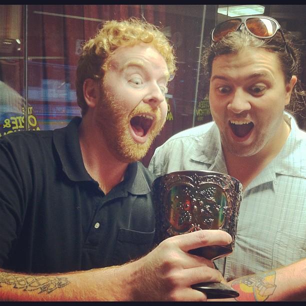 Dave & Pepper find someone's urn