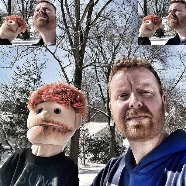 Dave and SNOW and Puppet.jpg