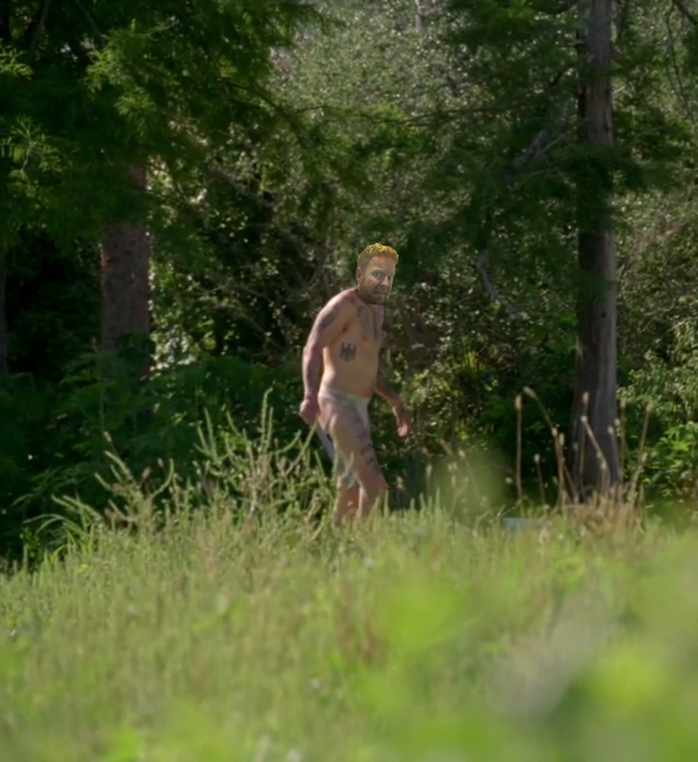 """Apparently the killer likes to sit naked in his """"Smoke Zone""""."""