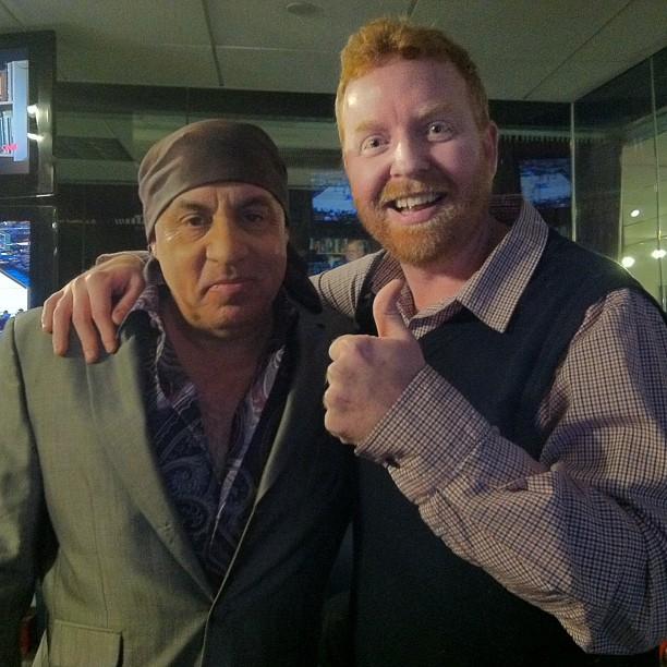 Dave & Little Steven Van Zandt of the E Street Band