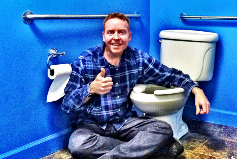 Davey Mac and the Potty.