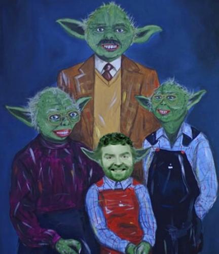 Yoda Family- Chuck, Maureen, Marty & David