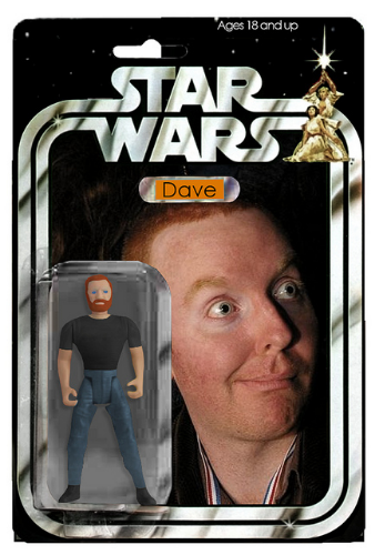 East Side Dave: Shitty Jedi Knight, shitty action figure.