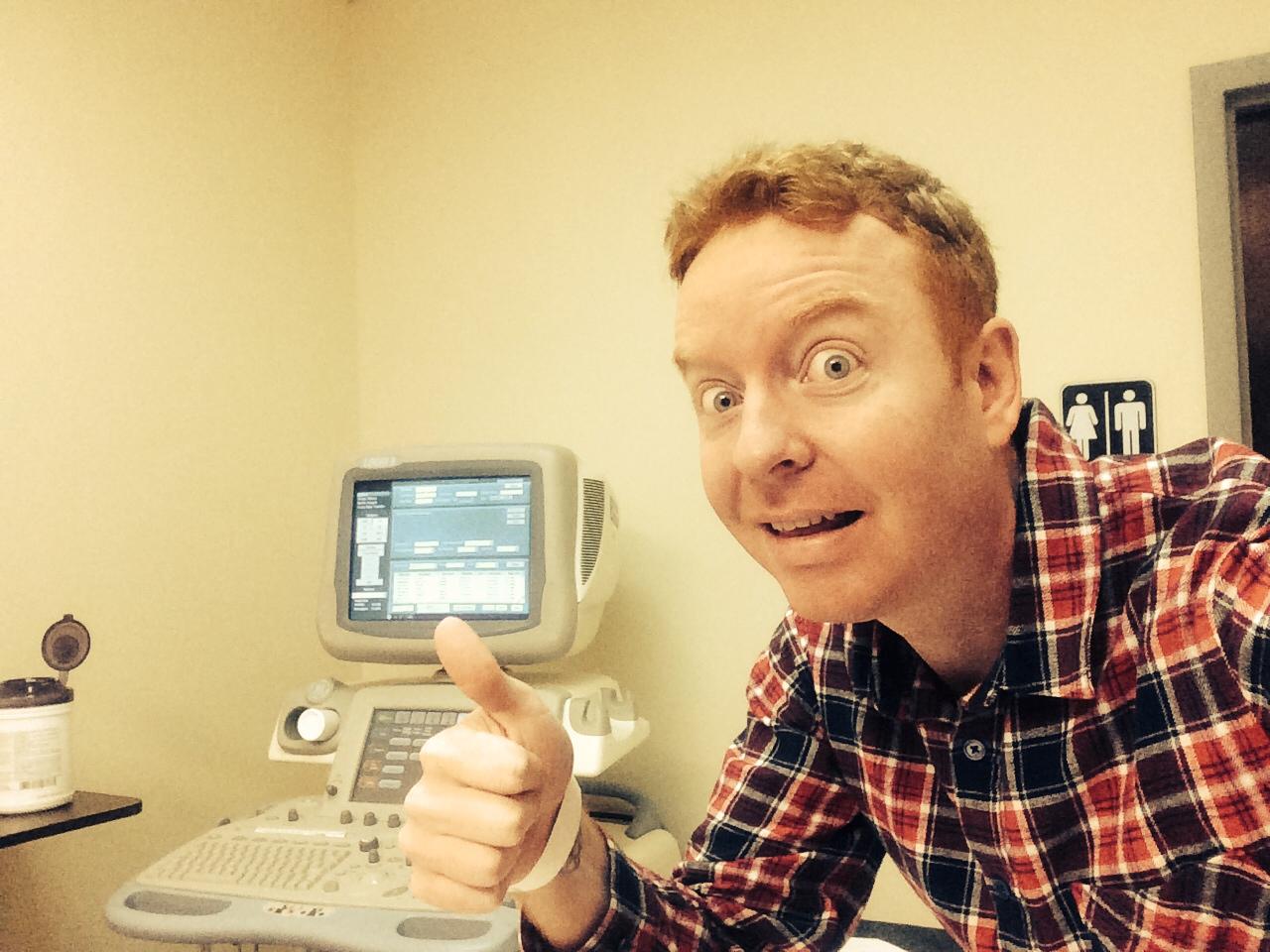 East Side Davey Mac - He wears plaid at hospitals.