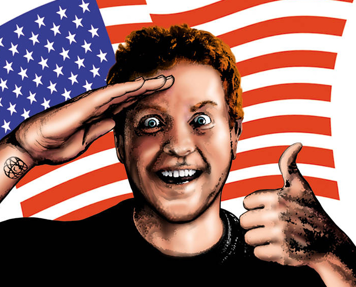 The call him David America.