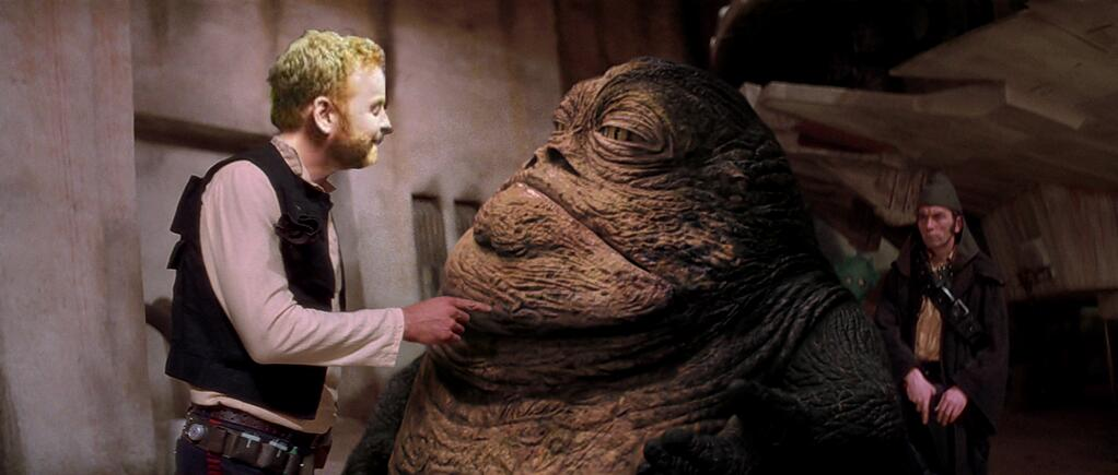 Sometimes even Dave gets boarded, Jabba.
